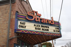 The Rise Again film was shown at The Strand Theater in Zelienople, PA.